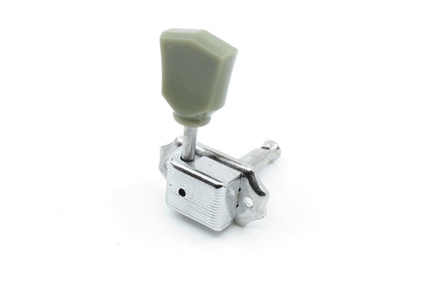 Image of Vintage Style Tuner Jade Green Chrome Left