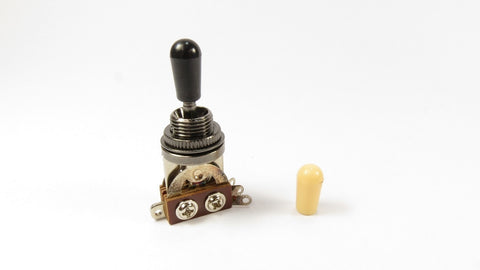 3-Way Toggle Switch Faded Black