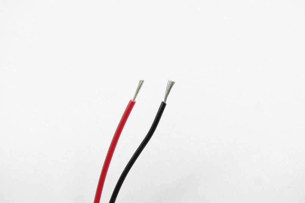 Hookup wire 1 metre 500mm Red, 500mm Black