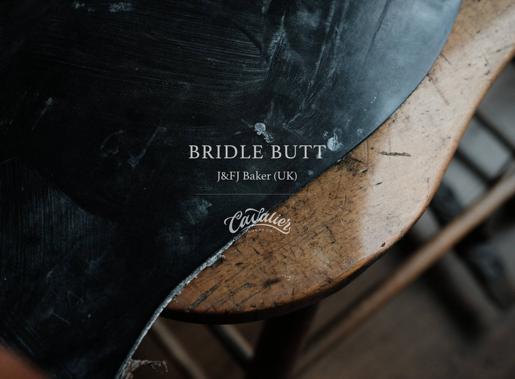 Bridle Butt Leather from J&FJ Baker