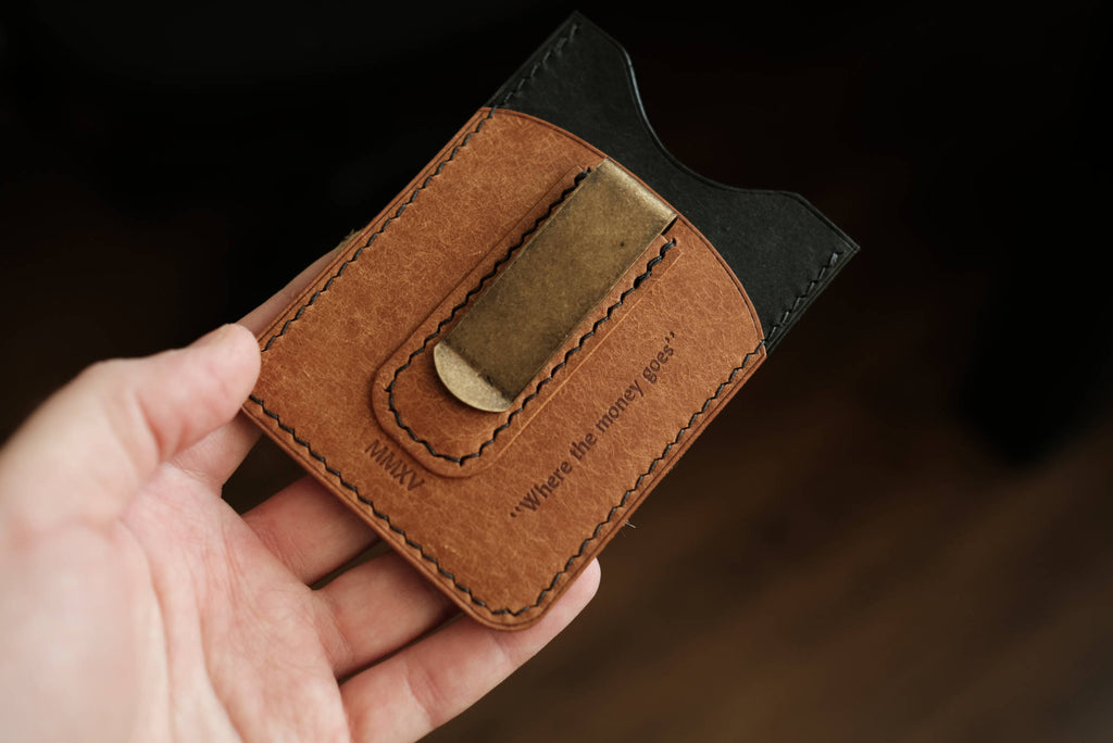 Embossed Leather Personalization