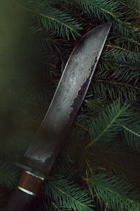 fixedblade premium damascus steel Jungle outdoor knife