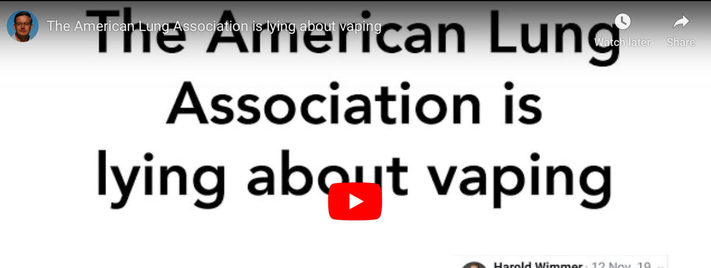 Dr. John Oyston on Vaping & The American Lung Association
