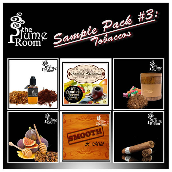 The Plume Room Sample Pack #3- Tobaccos
