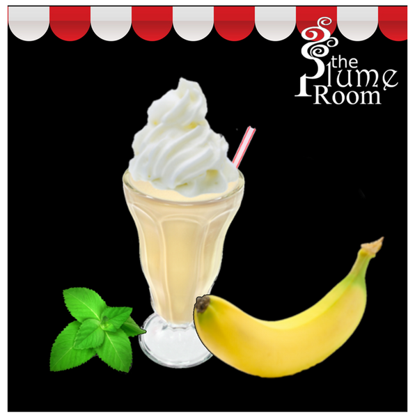 Bananna Mint Milkshake- A popular vape ejuice from TPR.