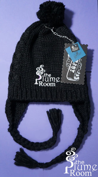 TPR Gear: Cabled Pom Beanie