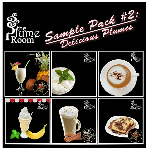 The Plume Room Sample Pack #2- Delicious Plumes