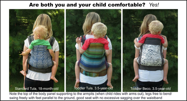 Are both you and your child comfortable photo