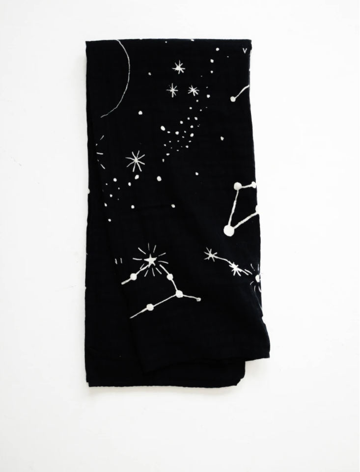 Astrology Swaddle Blanket