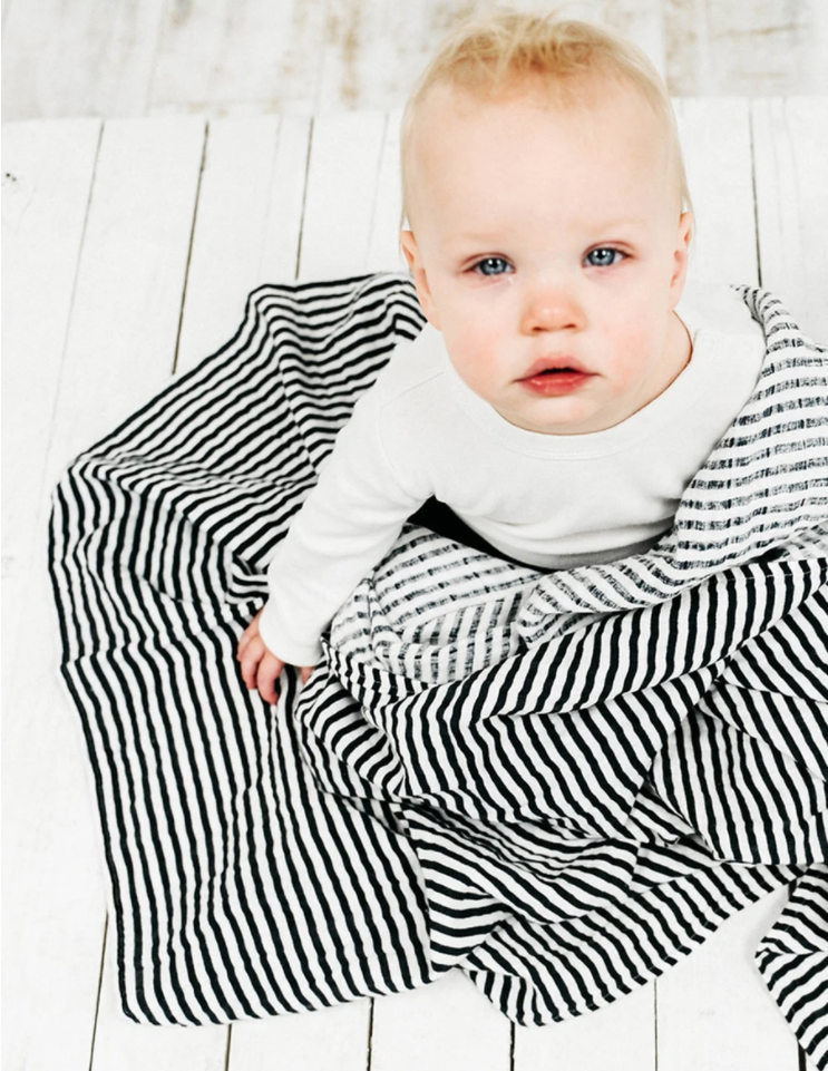 Black and White Swaddle
