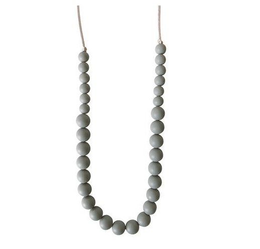 Arianna Grey Teething Necklace