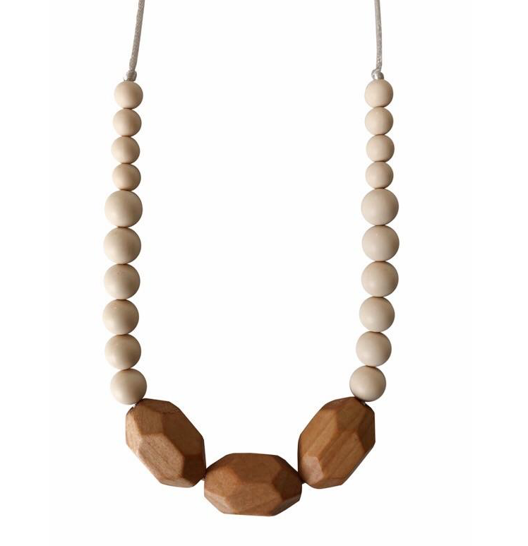 Austin CreamTeething Necklace
