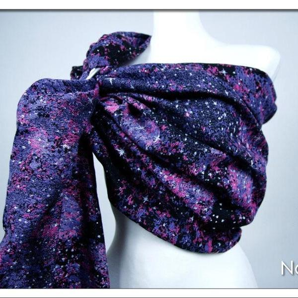 Natibaby Purple Nebula Ring Sling