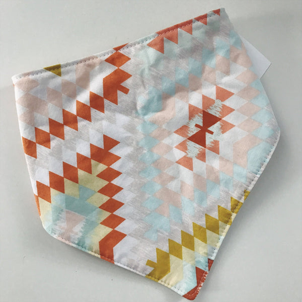 Reversible Drool Bib Geo