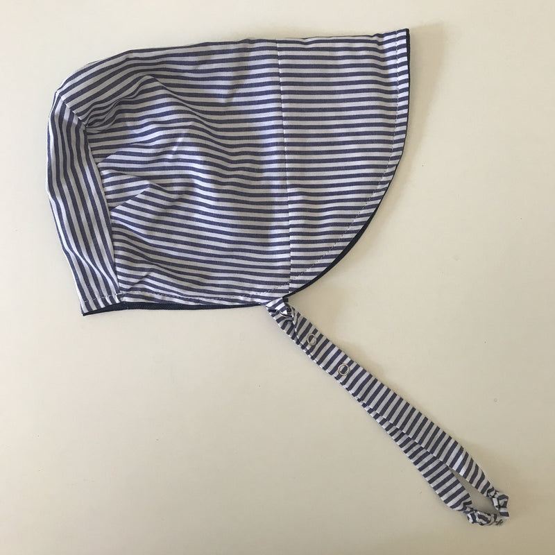 Urban Baby Bonnet Denim Stripe