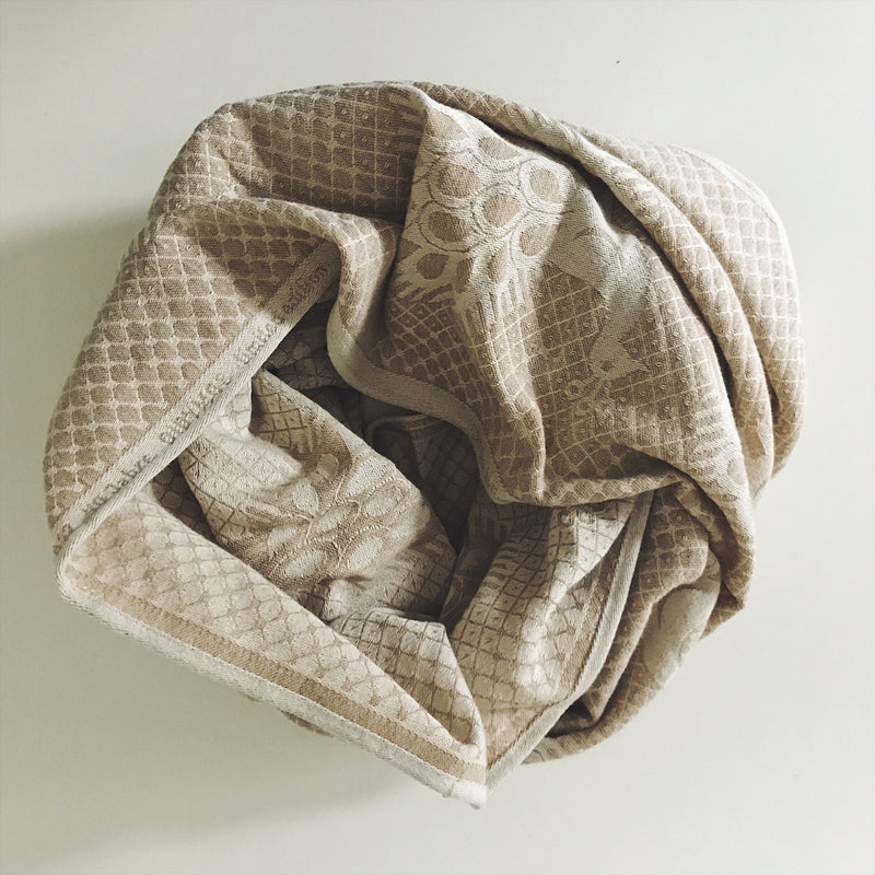 Exclusive Didymos Cream Pfau Loop Scarf