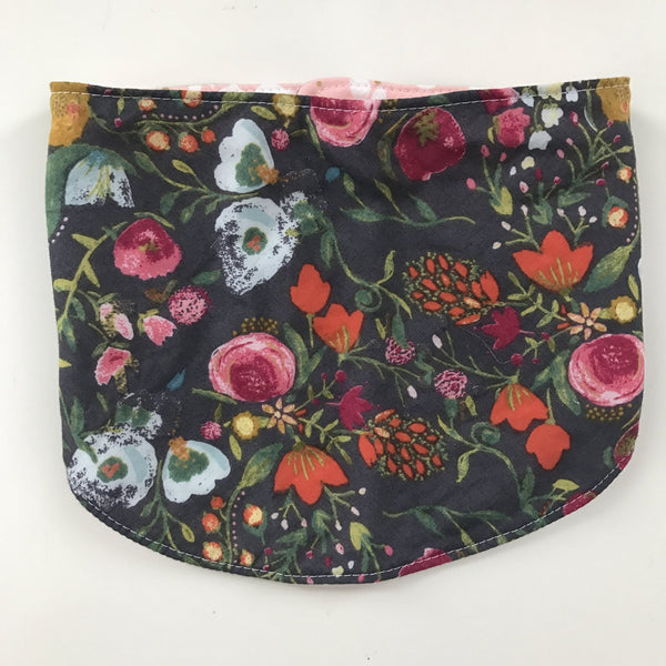 Reversible Drool Bib Floral