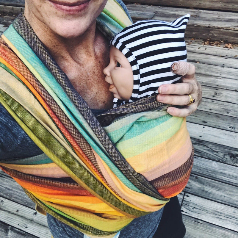 Girasol Elements Rainbow Woven Wrap
