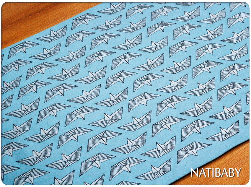 Natibaby Paper Boats Woven Wrap