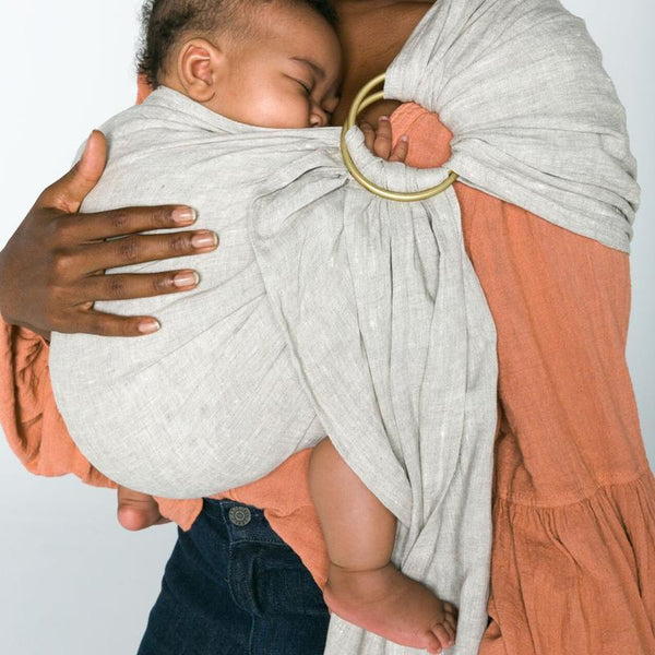 Sakura Bloom Basic Flax Ring Sling