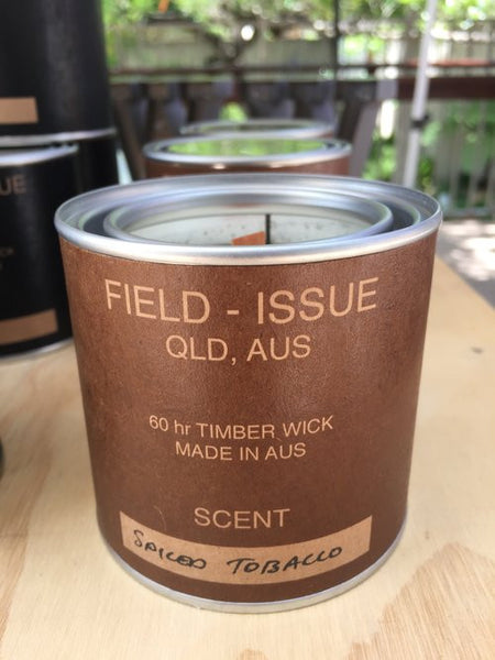 "Field Issue - ""SPICED TOBACCO"" Candle"