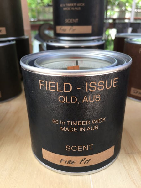 Field Issue - Fire Pit Candle