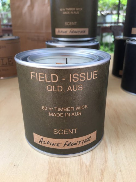 Field Issue - ALPINE FRONTIER Candle