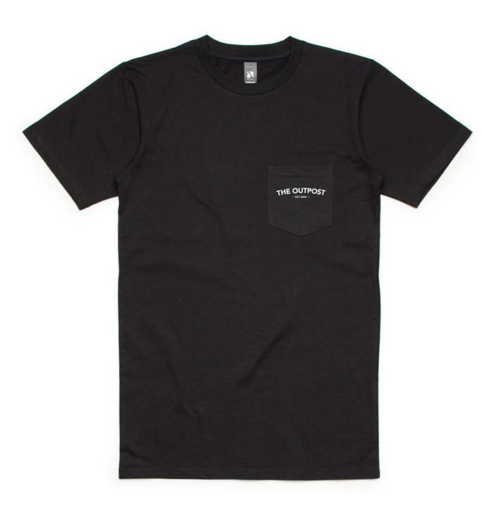 "The Outpost - ""The Outdoor Type"" (SPECIAL RELEASE ""NIGHT"" Colourway POCKET TEE)"