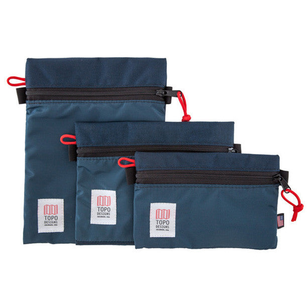 TOPO - Accessory Bags (4 Colours/Sizes)