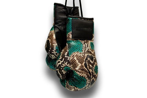 Manila Boxing Gloves, Gemstone Snakeskin