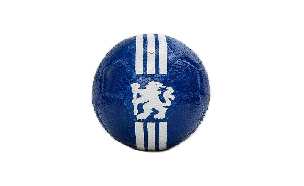 Espana Soccer Ball, Chelsea Custom Team Glazed Snakeskin