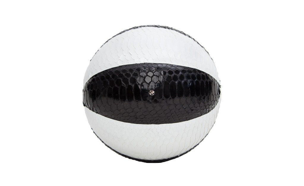 Springfield Basketball, Black/White Glazed Snakeskin