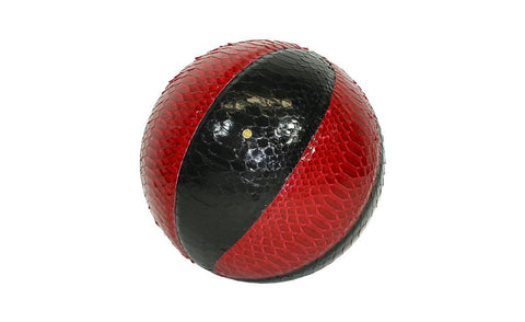 Springfield Basketball, Black/Red Glazed Snakeskin