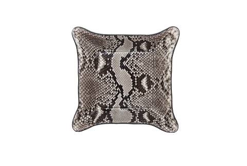 Quebec Travel Valet Large, Natural Snakeskin