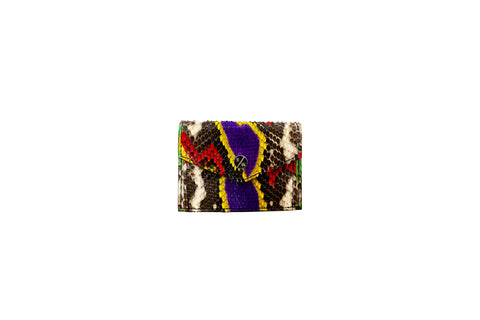 Provence Small Wallet, Fairy Dust Snakeskin