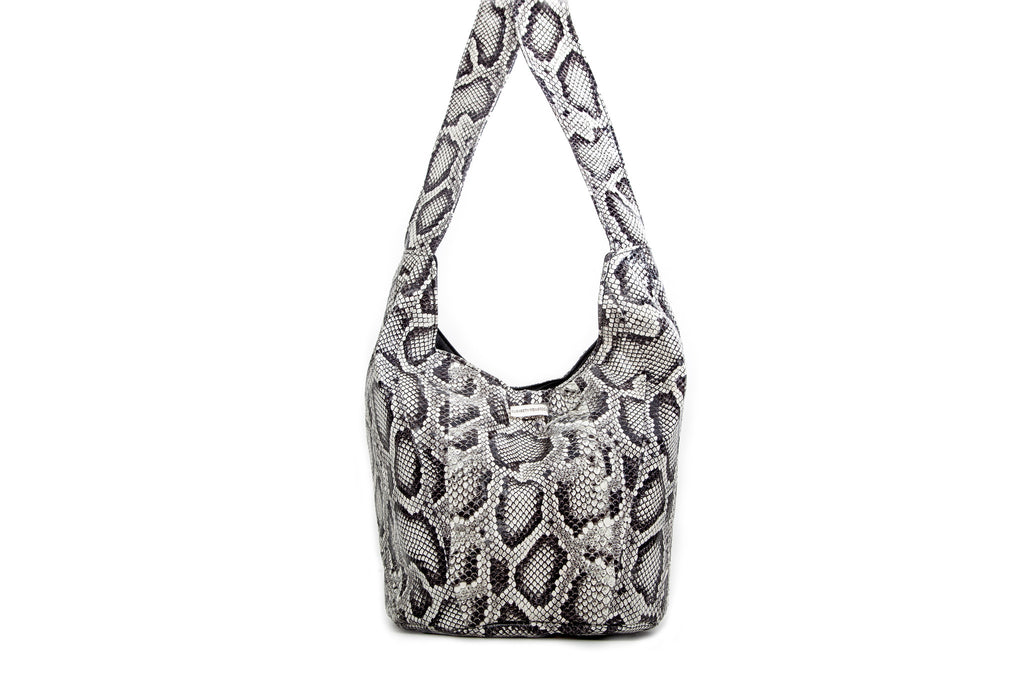 Malibu Cross Body, Python Print Elaphe
