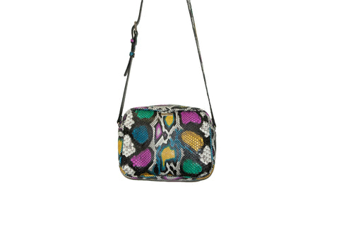 Venice Cross-Body, Siouxsie Snakeskin