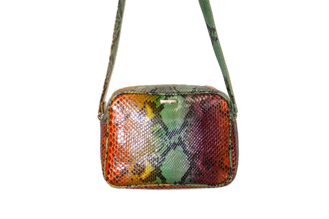 Venice Cross-Body, Tie Dye Snakeskin