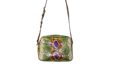 Venice Cross-Body, Fairydust Snakeskin