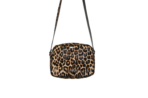 Venice Cross-Body, Leopard Print Calf Skin