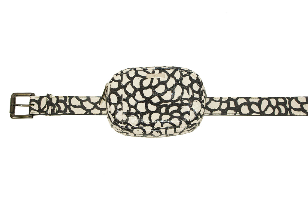 Avignon Fanny Pack with Belt, Flower Elaphe