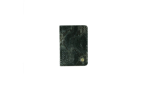 Panama Card Holder, Indian Sea Snakeskin