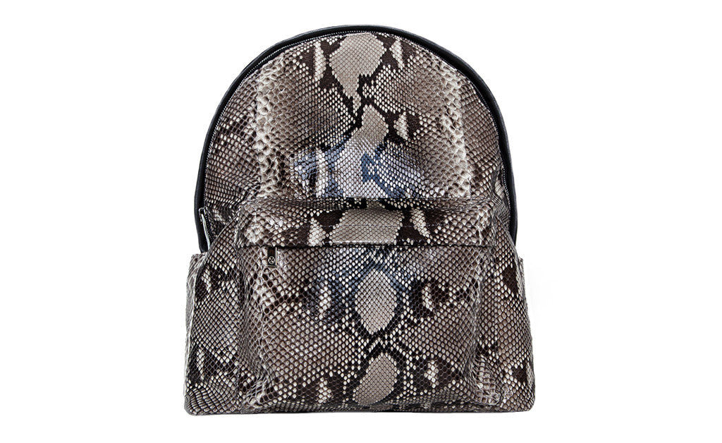 The Andes Backpack, Natural Snakeskin