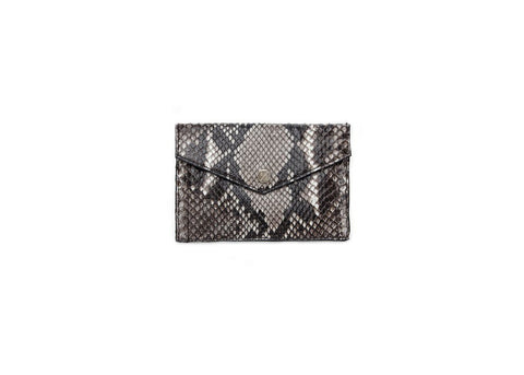 Provence Small Wallet, Natural Snakeskin