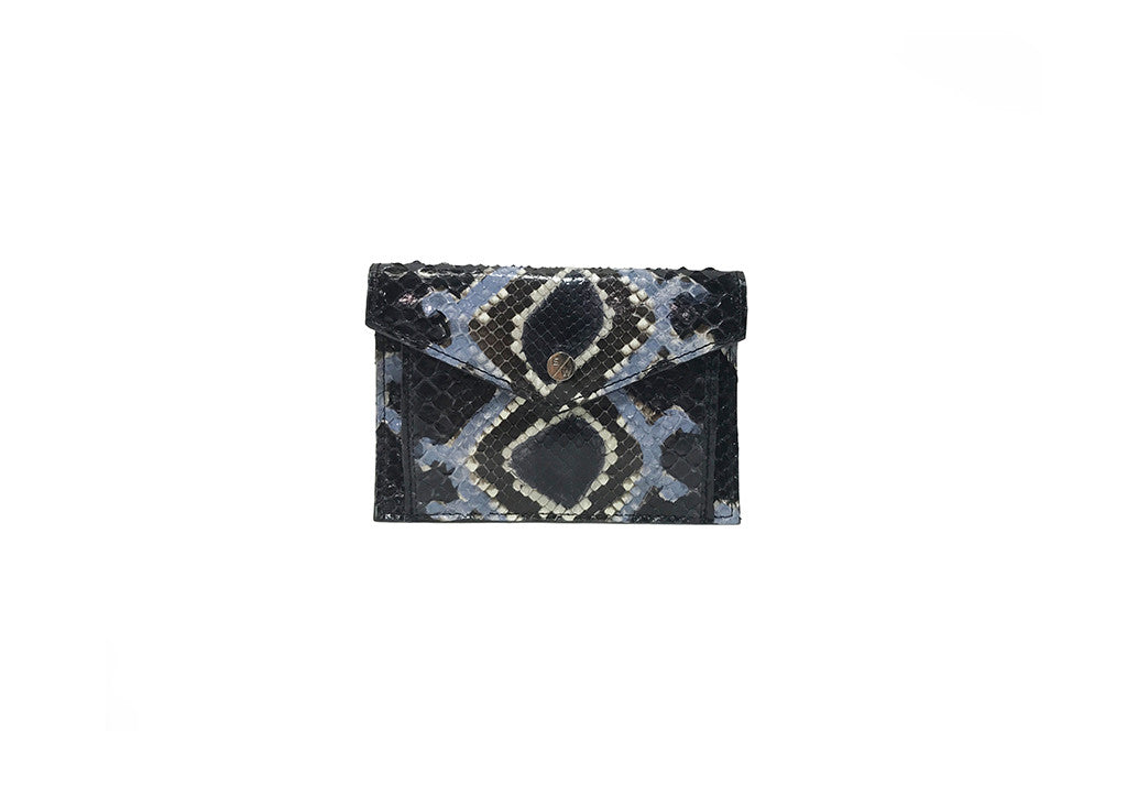 Provence Small Wallet, Sin Snakeskin