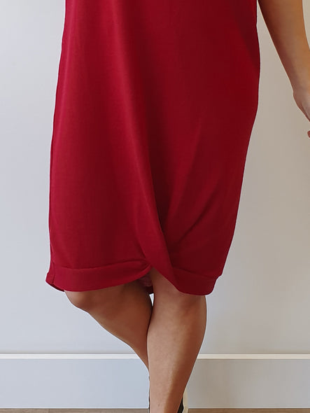 247 Dress - Torero Red