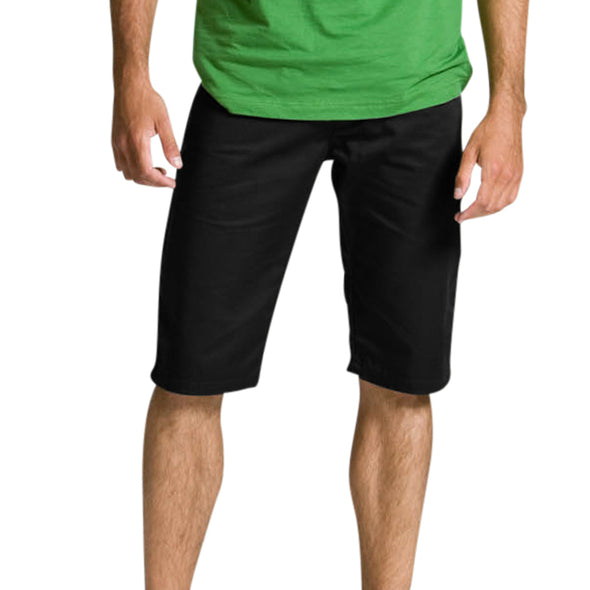 Black Spizz 5/8 Shorts