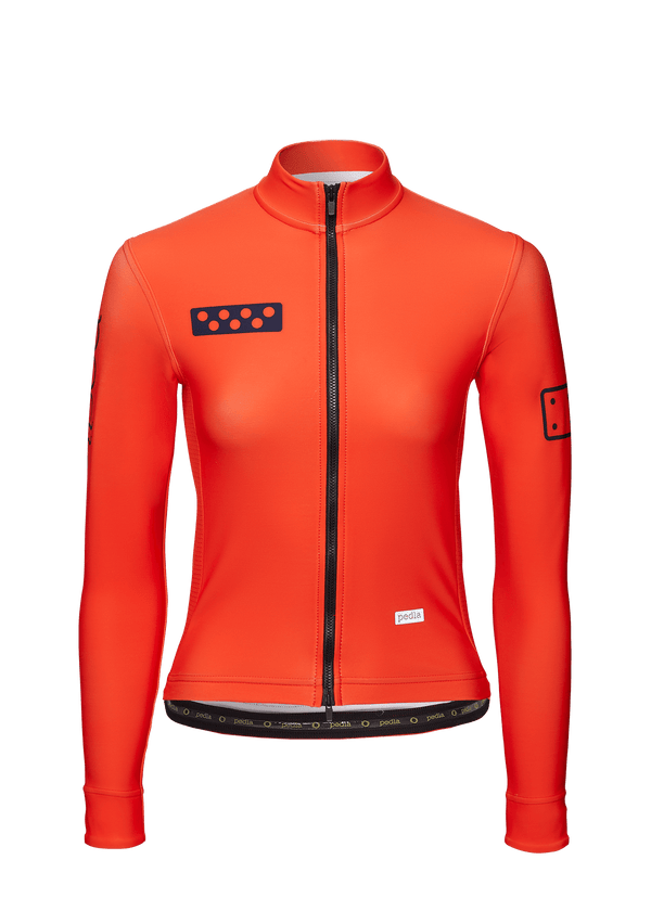 BOLD / Women's ChillBlock Jacket - Neon RED