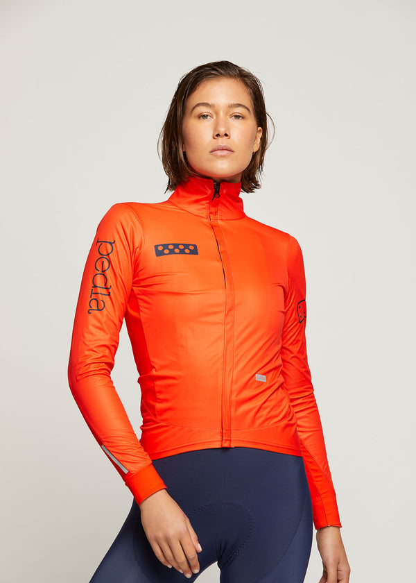 BOLD / Women's AquaDRY Jacket - NEON RED