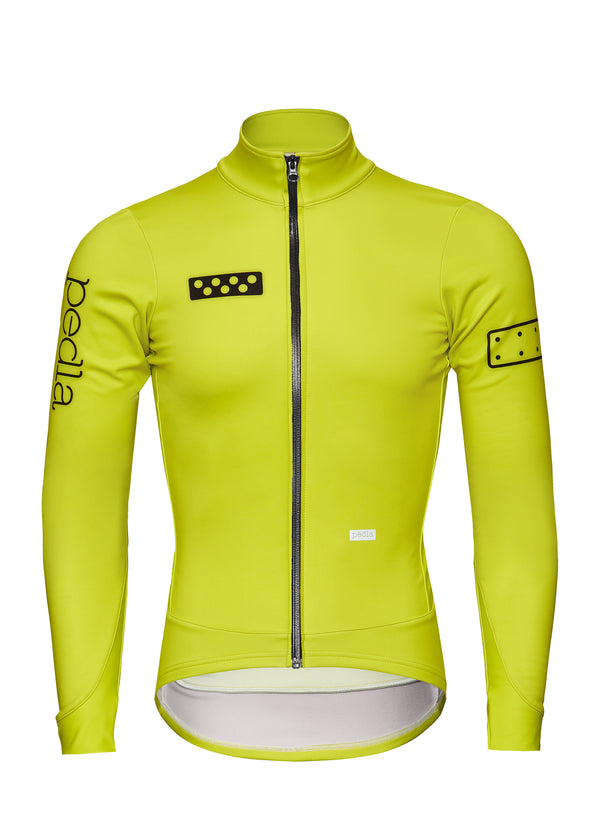 BOLD / AquaFLEECE Jacket - Neon Yellow